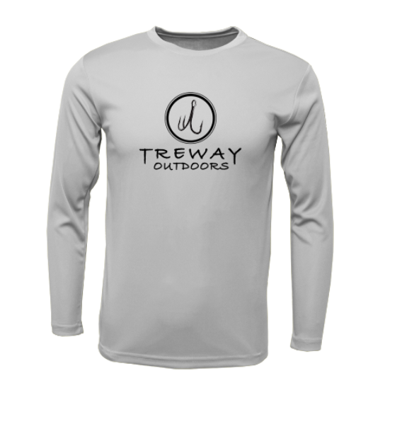 Treway Outdoors NC Flag Performance Long Sleeve