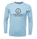 Treway Outdoors Trout NC Flag Performance Long Sleeve