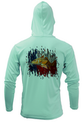 Treway Outdoors Texas Redfish Hooded Long Sleeve