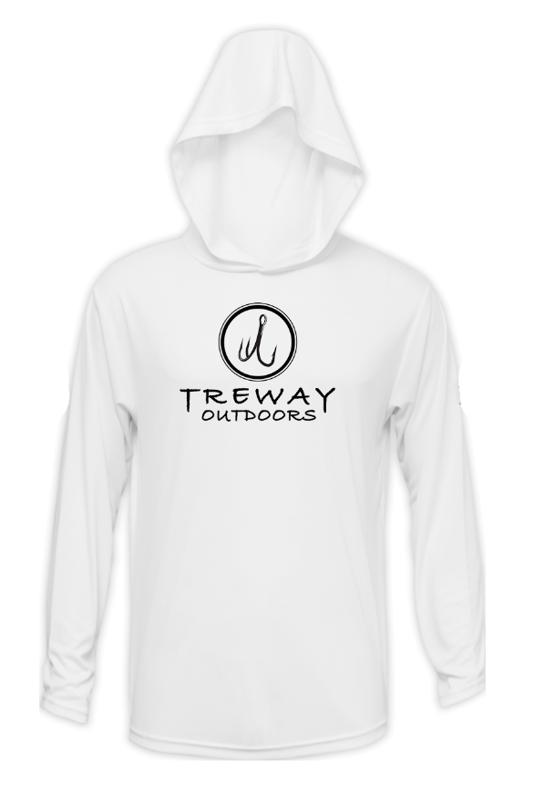 Treway Outdoors Trout NC Performance Hooded Long Sleeve