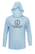 Treway Outdoors NC Performance Hooded Long Sleeve