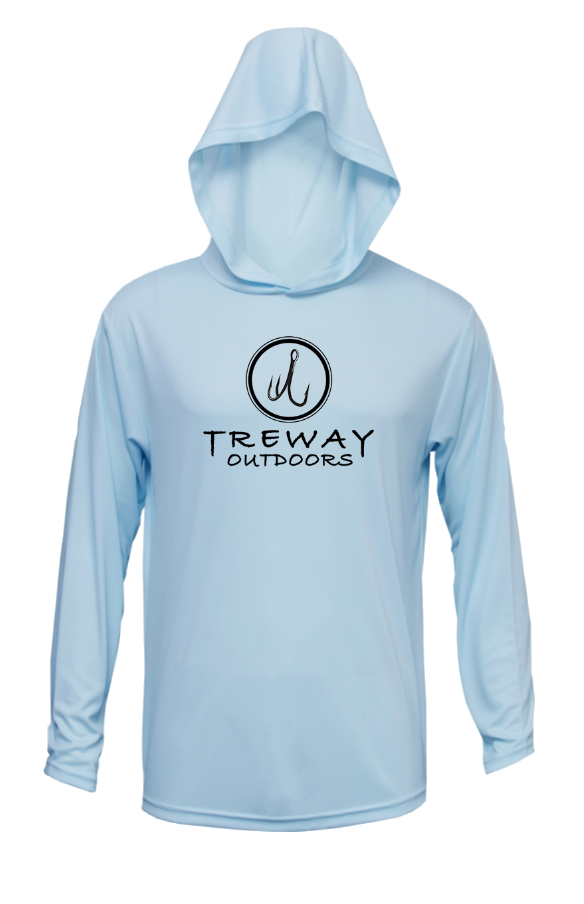 Treway Outdoors Florida Sailfish Mount Hooded Long Sleeve