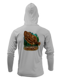 Treway Outdoors Flounder Hooded Long Sleeve