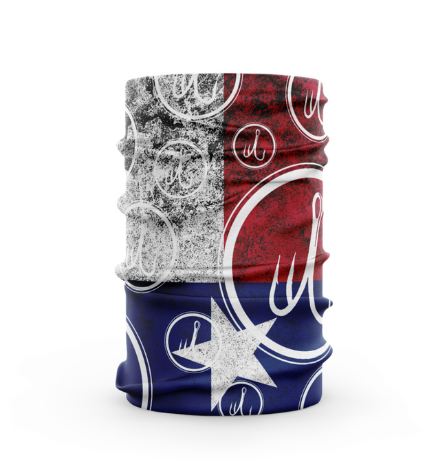 Treway Outdoors Texas Flag Face Mask