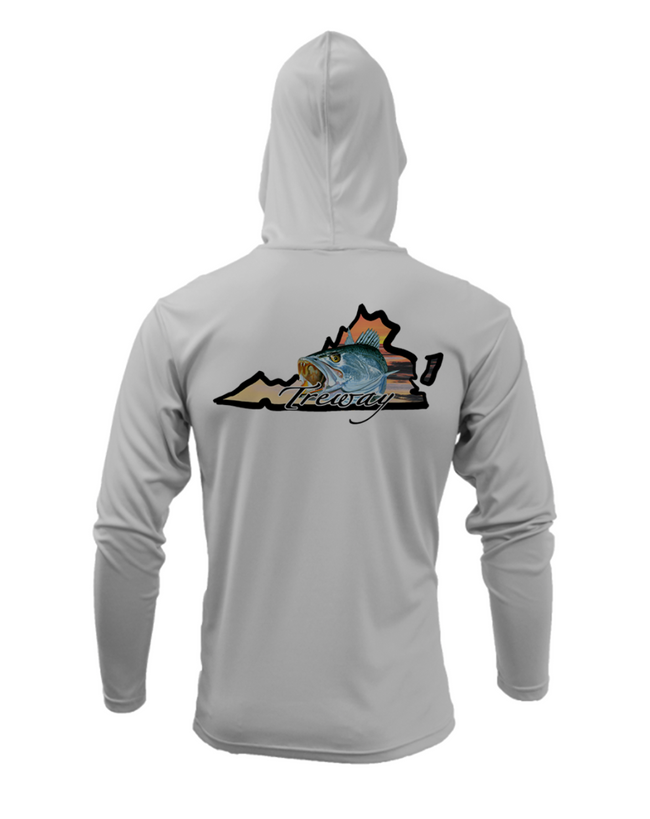 Treway Outdoors Trout Virginia Performance Hooded Long Sleeve