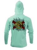 Treway Outdoors Florida Redfish Hooded Long Sleeve