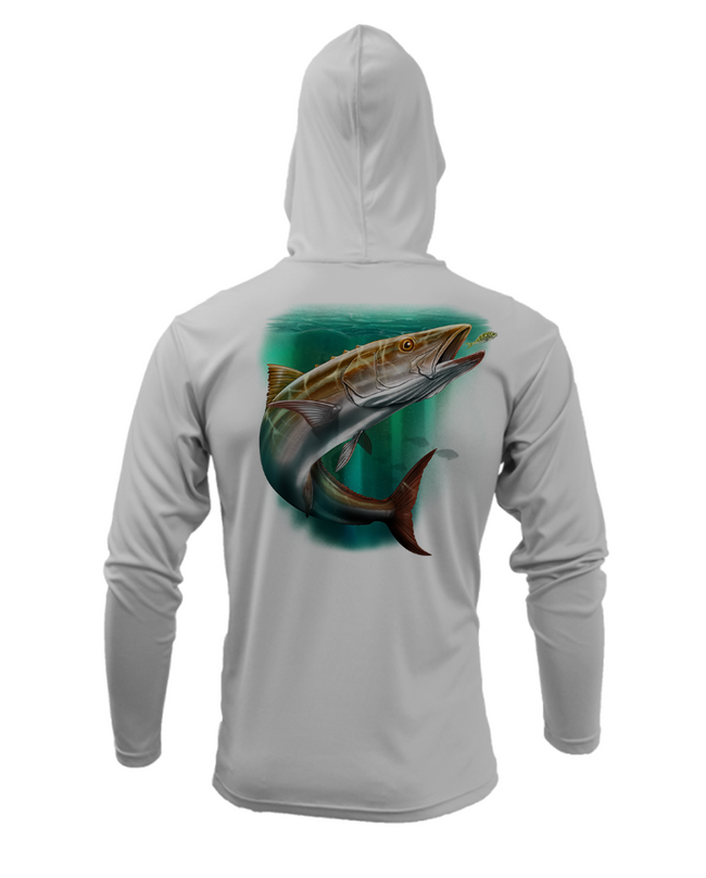 Treway Outdoors Cobia Performance Hooded Long Sleeve
