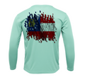 Treway Outdoors Georgia Flag Performance Long Sleeve