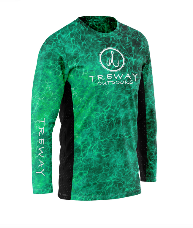 Treway Turquoise Cell-Tek Performance Long Sleeve