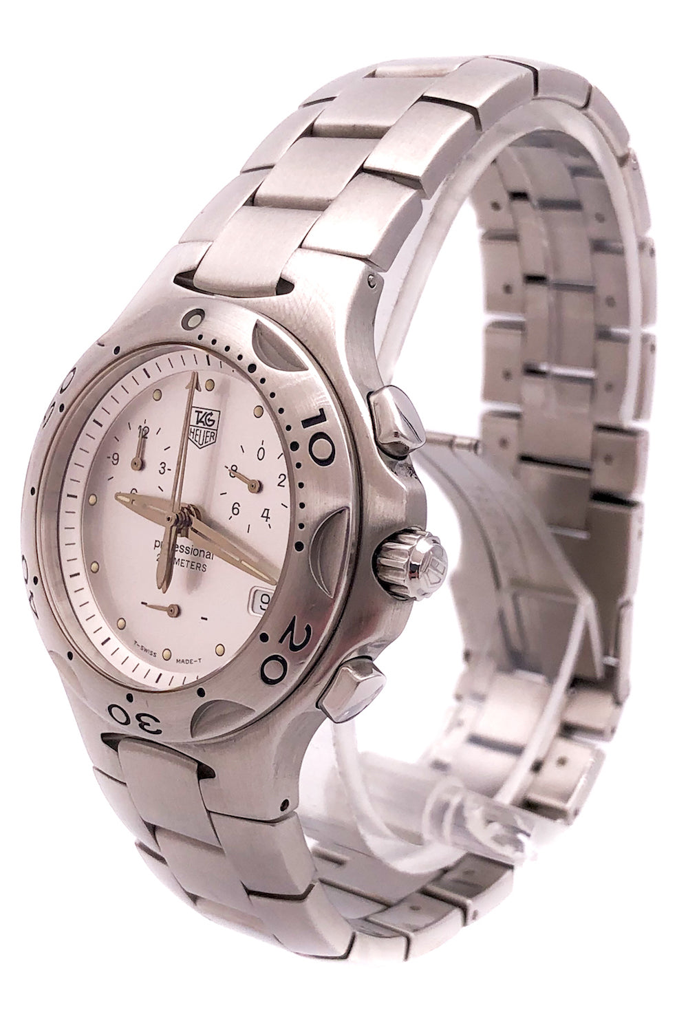 TAG Heuer Kirium Professional Stainless Steel w/ MOP Dial – CL1111