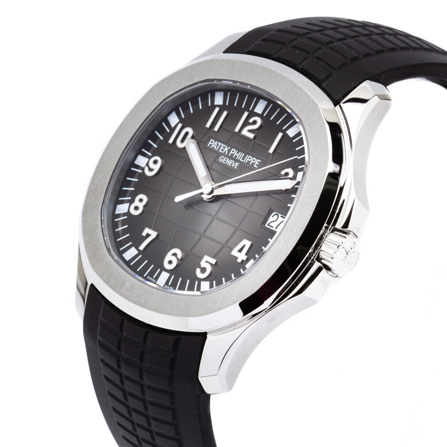 NEW Patek Philippe Aquanaut Stainless Steel w/Black Dial - 5167A-001