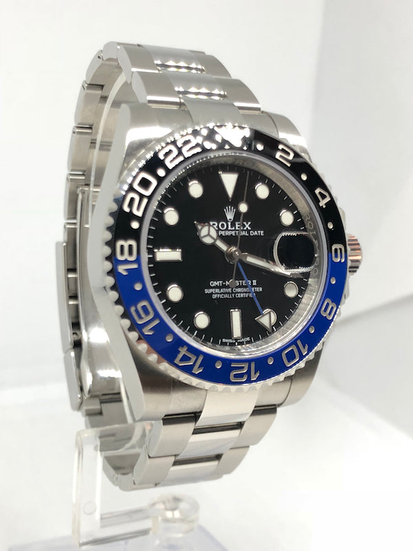 "Rolex GMT-Master II ""Batman"" Stainless Steel – 116710BLNR"