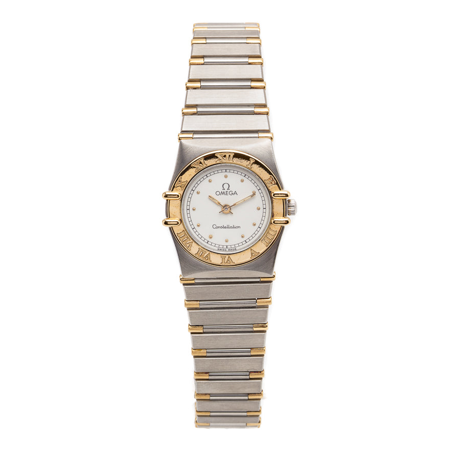 Omega Constellation Ladies TwoTone 18kt Yellow Gold/SS - 1262.30.00