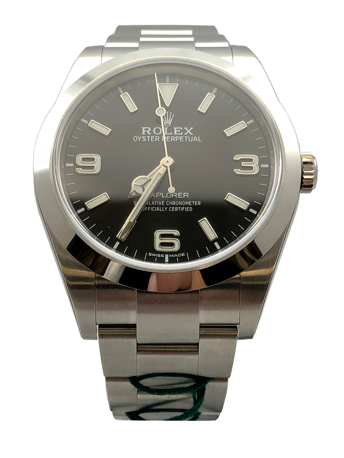 Rolex Explorer Stainless Steel w/Black Dial - 214270