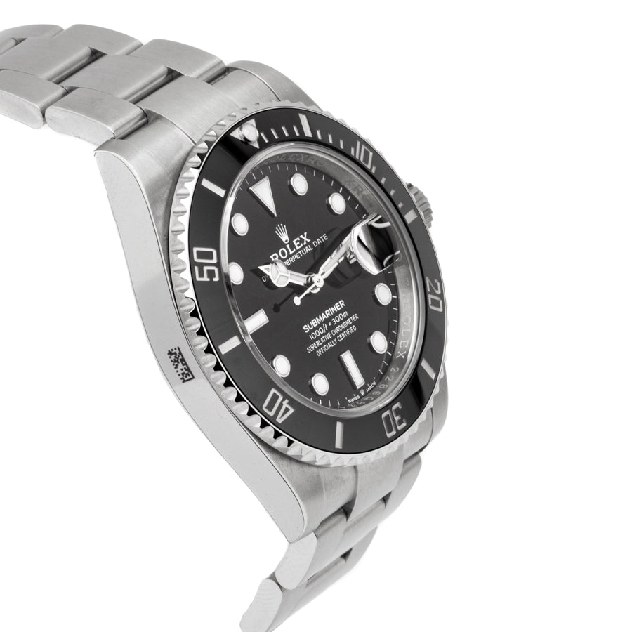 Rolex Submariner Date Stainless Steel w/Black Dial - 126110LN