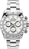 Rolex DISCONTINUED STEEL DAYTONA 116520 WHITE DIAL