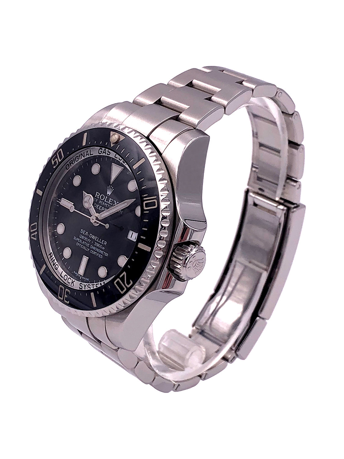 Rolex SeaDweller Deep Sea Stainless Steel Black Dial – 116660 Factory Warranty