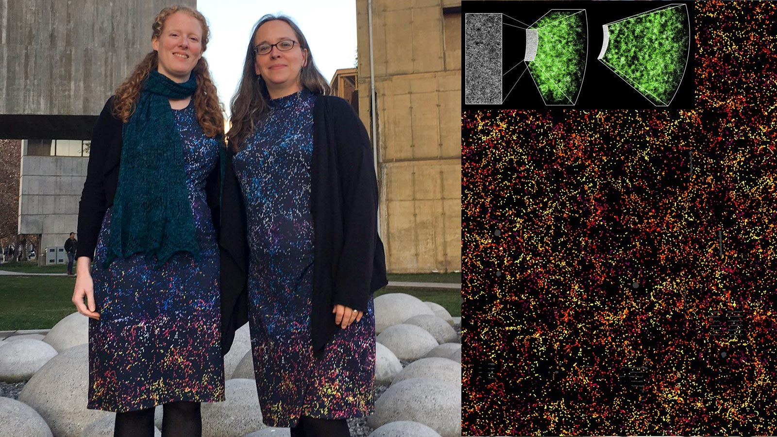 Science Fashion: Dark Matter BOSS dress at the SDSS