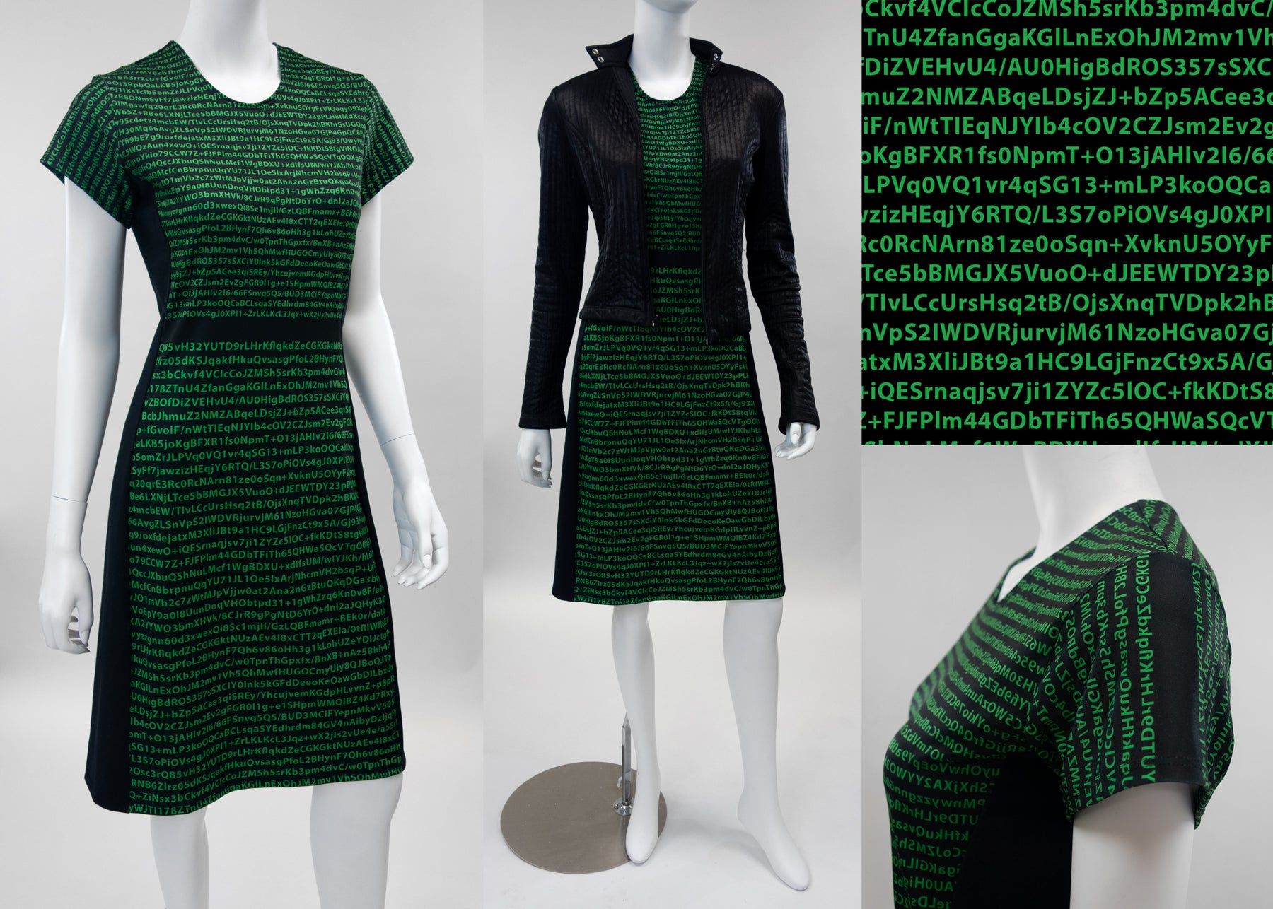 The Encryption Dress for Women in Cybersecurity