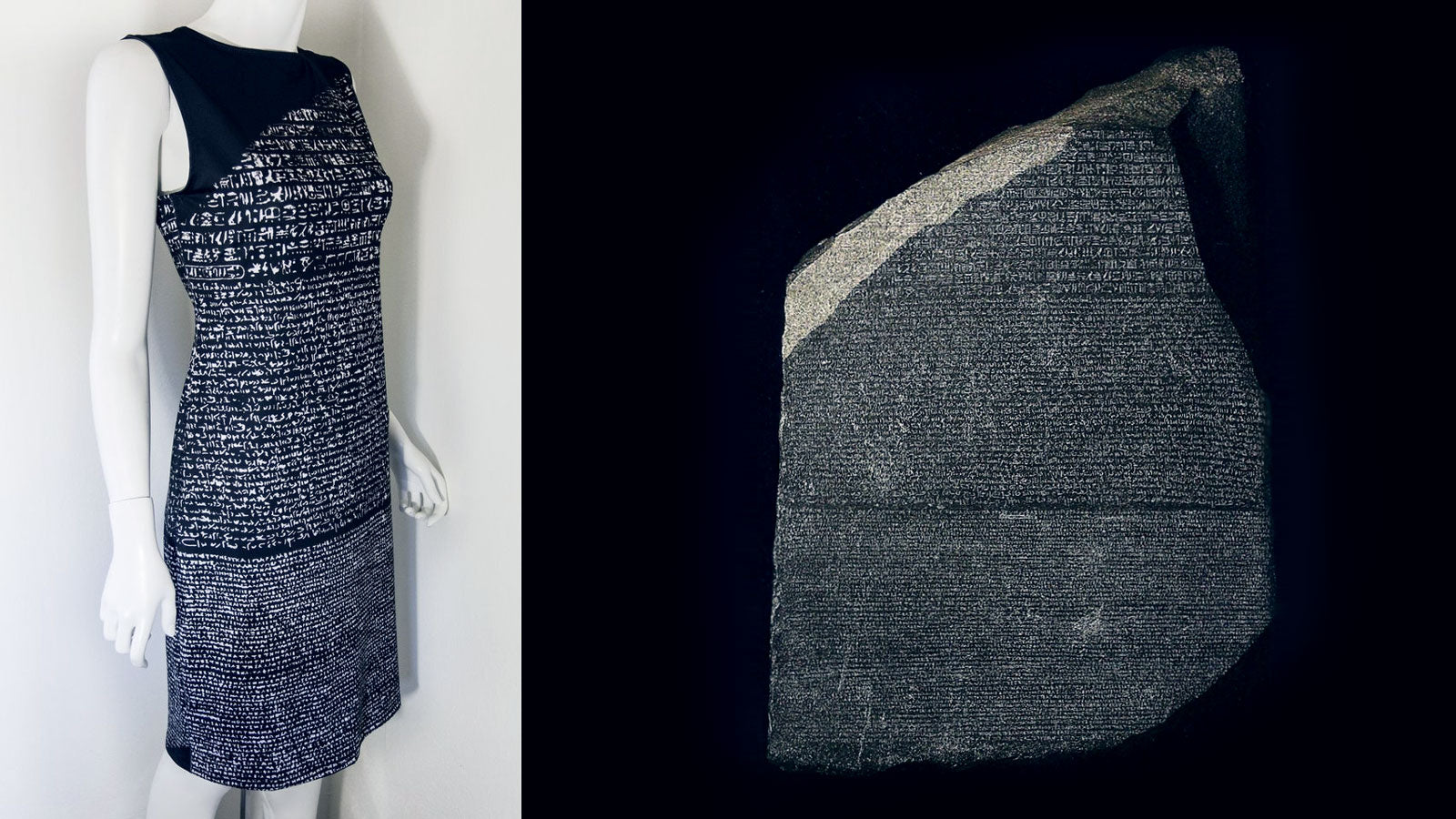 We Translated the Rosetta Stone into Your New Favorite Dress