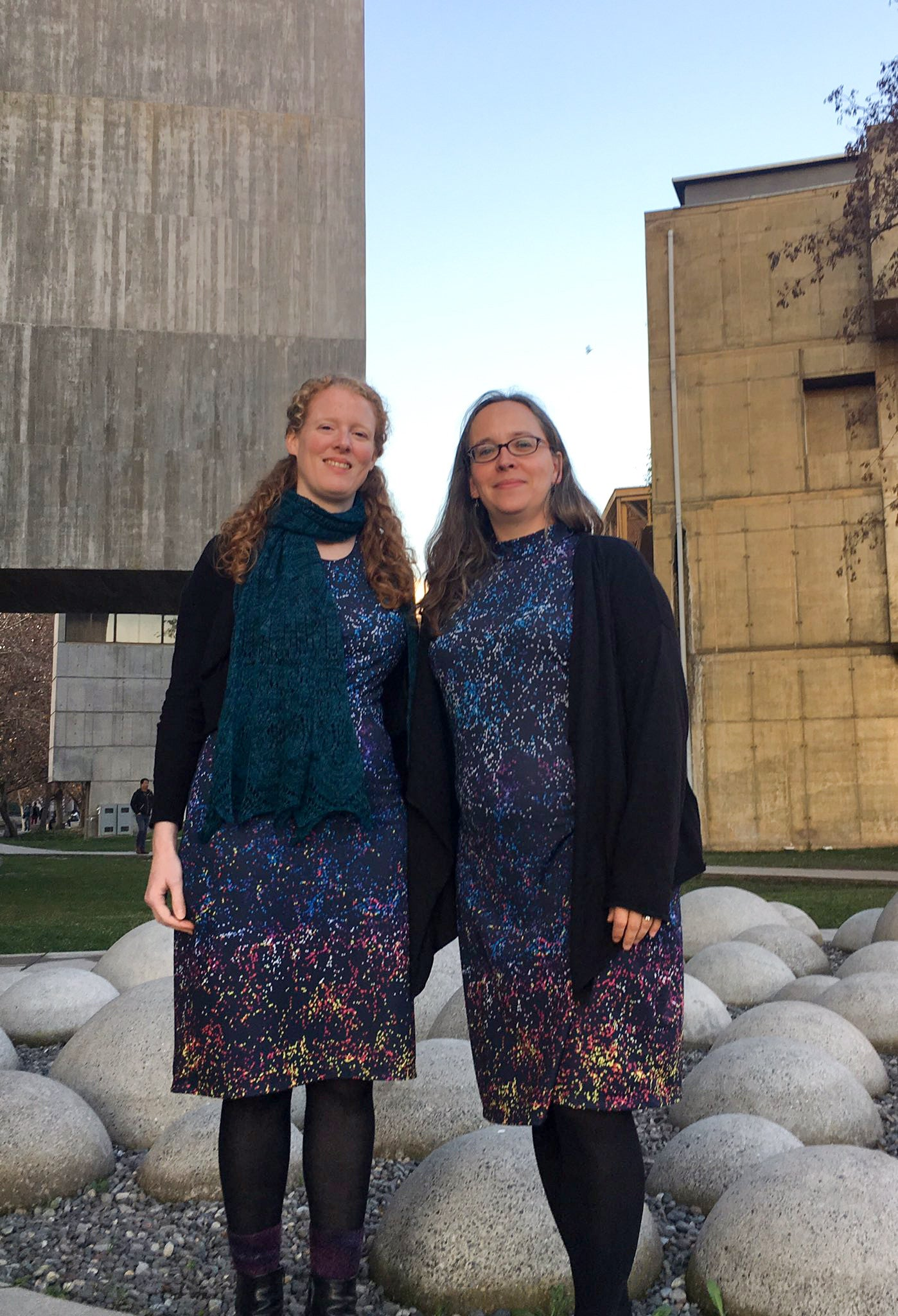 Data Coordinator Dr. Anne-Marie Weijmans and Spokesperson Karen L Masters from the Sloan Digital Sky Survey
