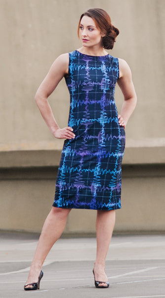 Gravitational Waves Dress inspired by LIGO discovery