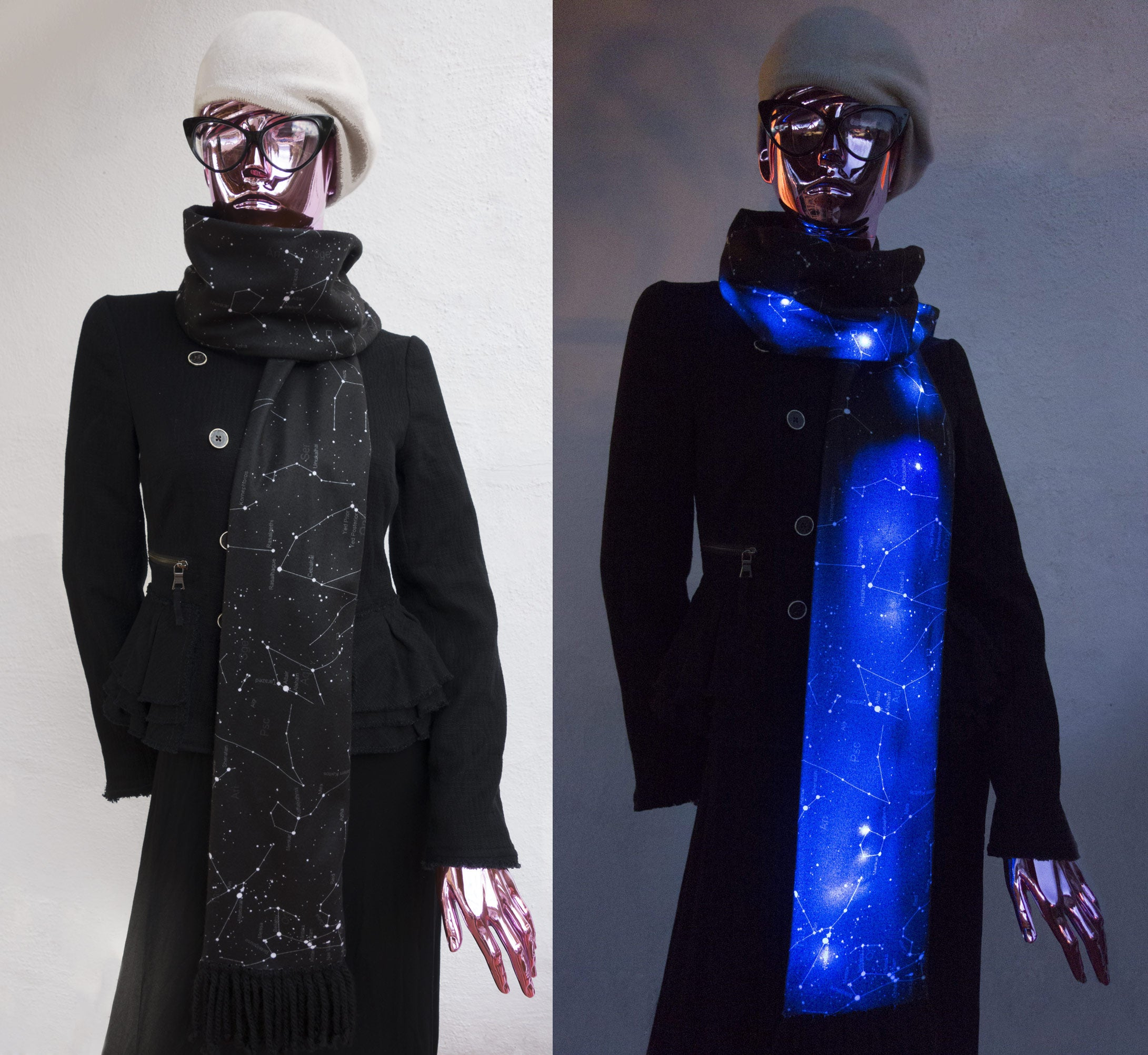 Illumiscarf Wearable Technology Scarf