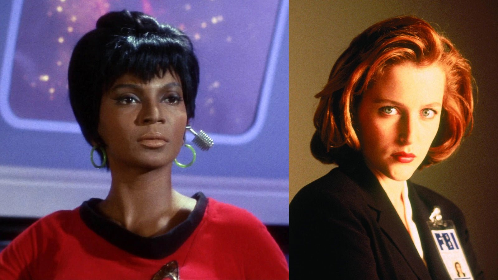 Lt Uhura Dana Scully