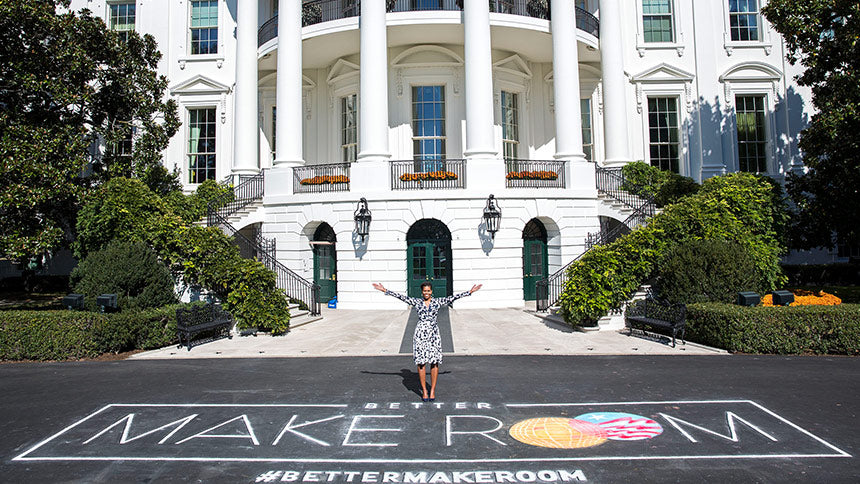 Michelle Obama and the Better Make Room Initiative