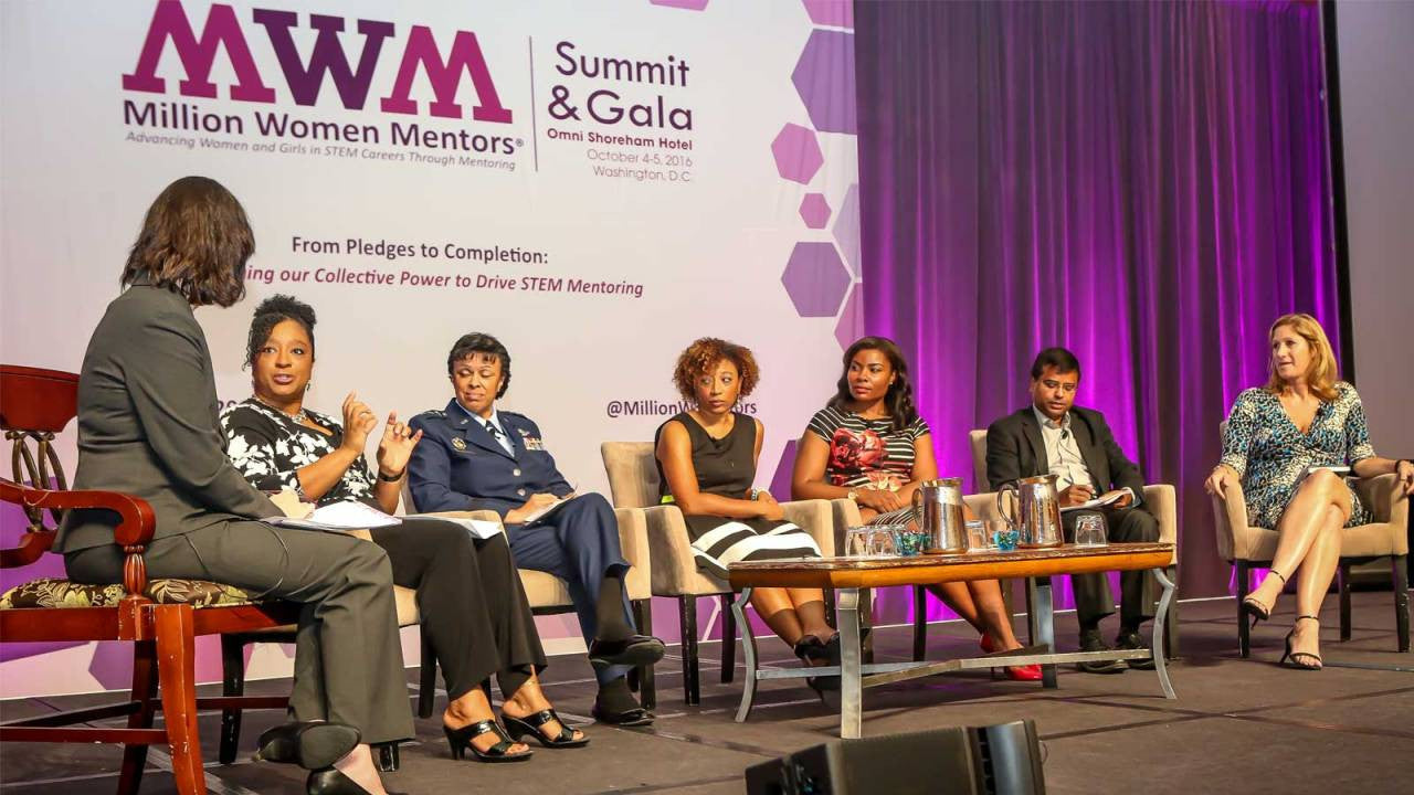 STEM Advocacy Group Million Women Mentors