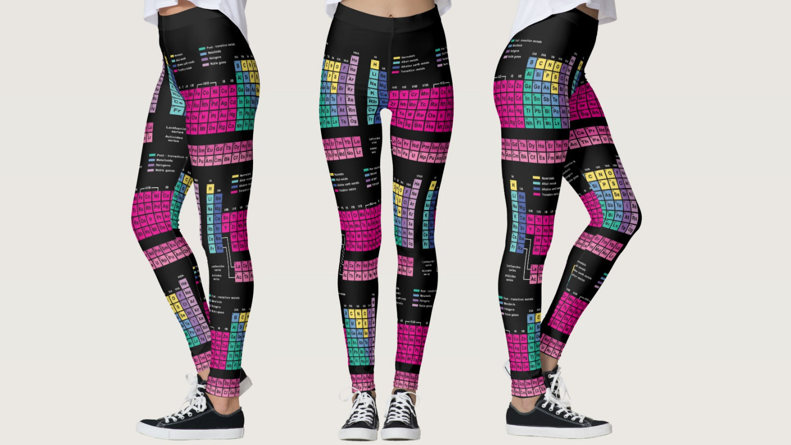 Lounge in these science yoga pants