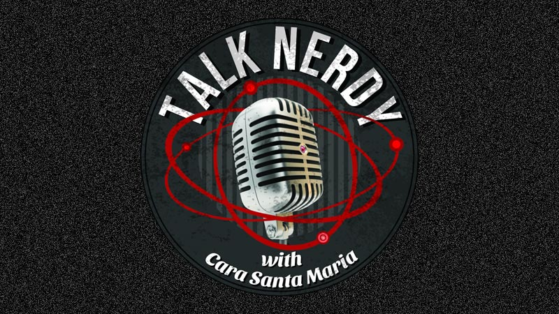 Talk nerdy science podcast logo
