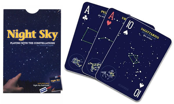 Night Sky Playing Cards Poker Astronomer Gift