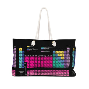 Periodic Table of Elements Chemistry bag