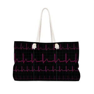 EKG Heartbeat Bag Back