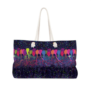 Neuroscience Brainbow Bag Front