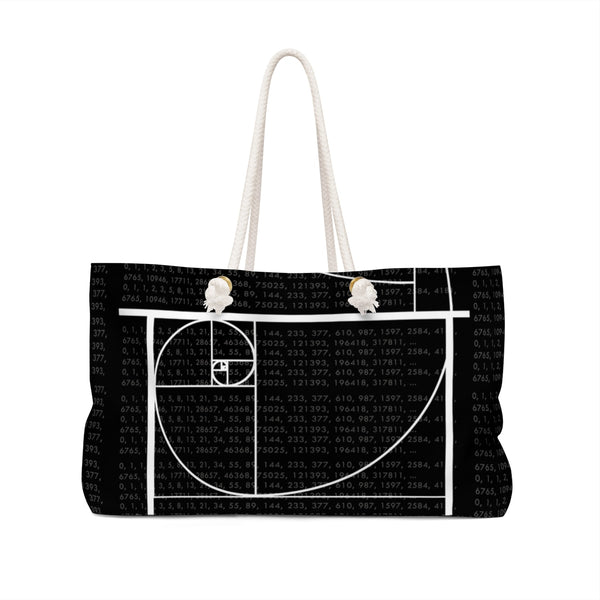 Fibonacci Sequence Bag Front