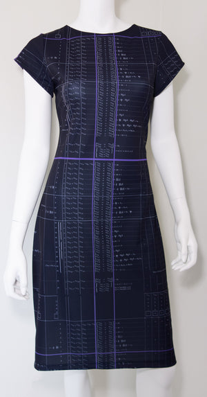 Ada Lovelace Computer Algorithm Code Dress Front