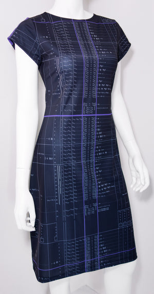 Ada Lovelace Algorithm Dress Front