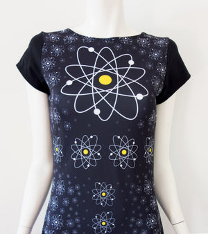 Nuclear Atom Daisy Dress