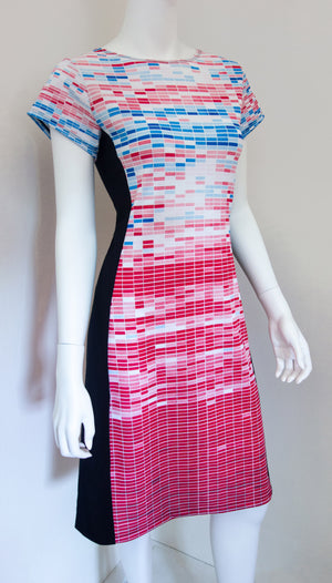 Climate Change Central Temperature Data Dress Front
