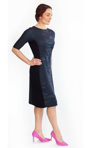 Computer Code Programming Dress Side