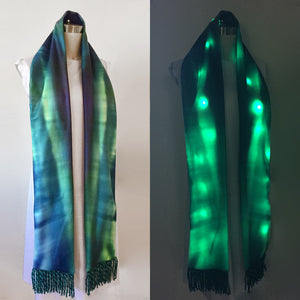 Northern Lights LED Light Up Glow Scarf