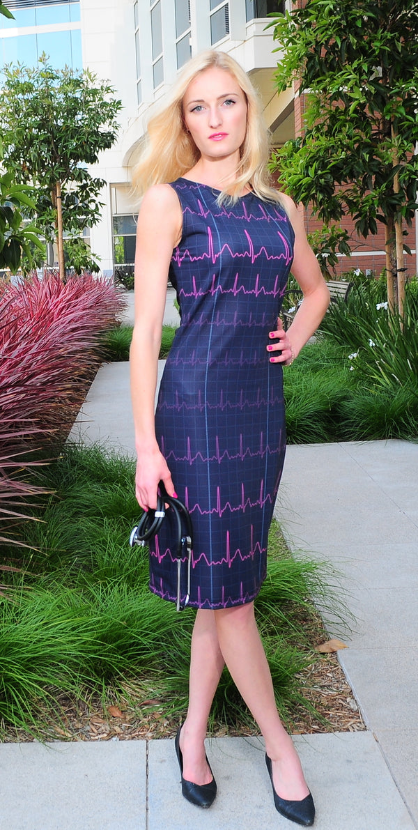 EKG Heartbeat Dress