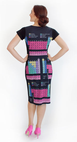 Periodic Table Elements Dress Back