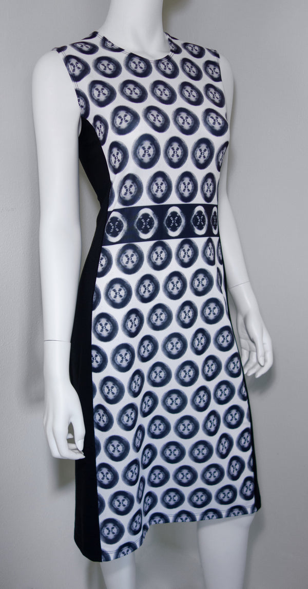 Rosalind Franklin Photo51 Dot Dress Front