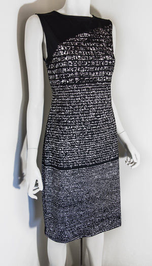 Rosetta Stone Hieroglyph Black Dress Front