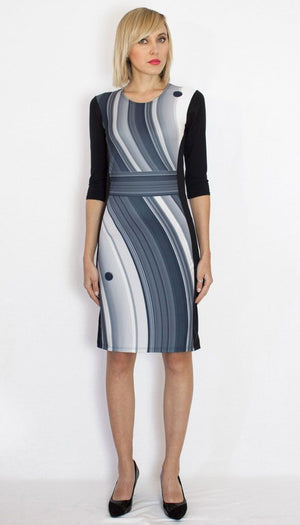 Saturn Dress Womens Front