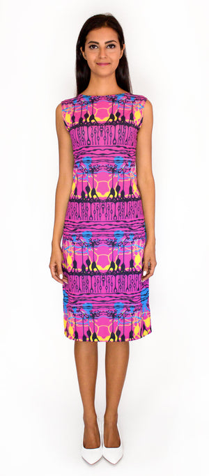 Neuroscience Retina Science Dress Front