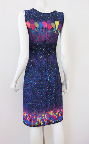 Brainbow Neuroscience Dress Back